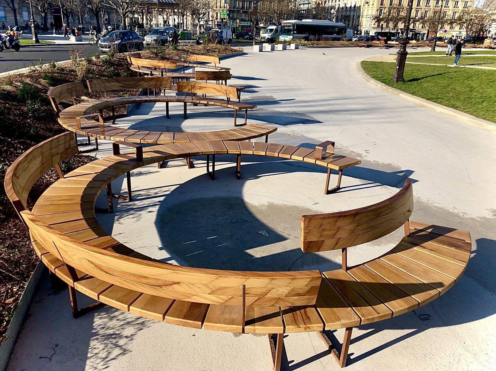 lab23 houten banken